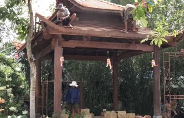 Mẫu nhà gỗ thi công 4